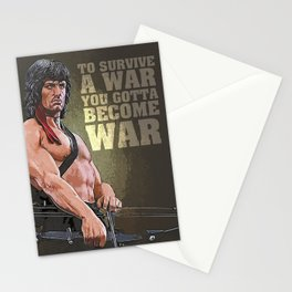 A Tribute to JOHN - Artistic portrait Stationery Cards