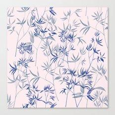 exotic blue Canvas Print