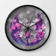 Floral Jedi Order Wall Clock