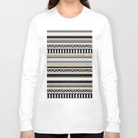 aztec Long Sleeve T-shirts featuring Aztec by Kakel