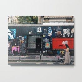 chez Gainsbourg Metal Print