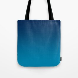 Ombre Blue Hawaii Ocean Gradient Duotone Tote Bag