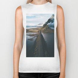 Mountain road in Iceland - Landscape Photography Biker Tank