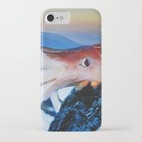 cthulhu iPhone & iPod Cases featuring Cthulhu by John Turck