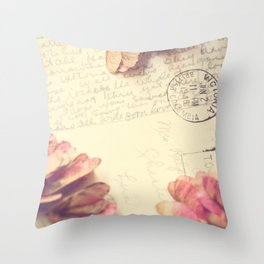 Victoria 1946 - Love Letter Throw Pillow