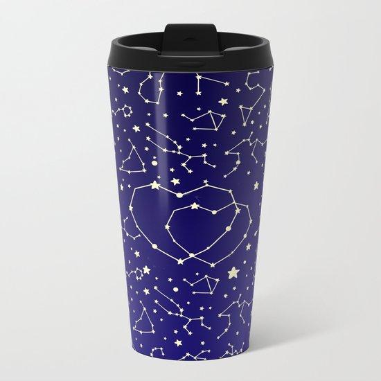 Star Lovers Metal Travel Mug