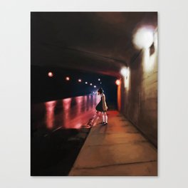 Underpass Canvas Print
