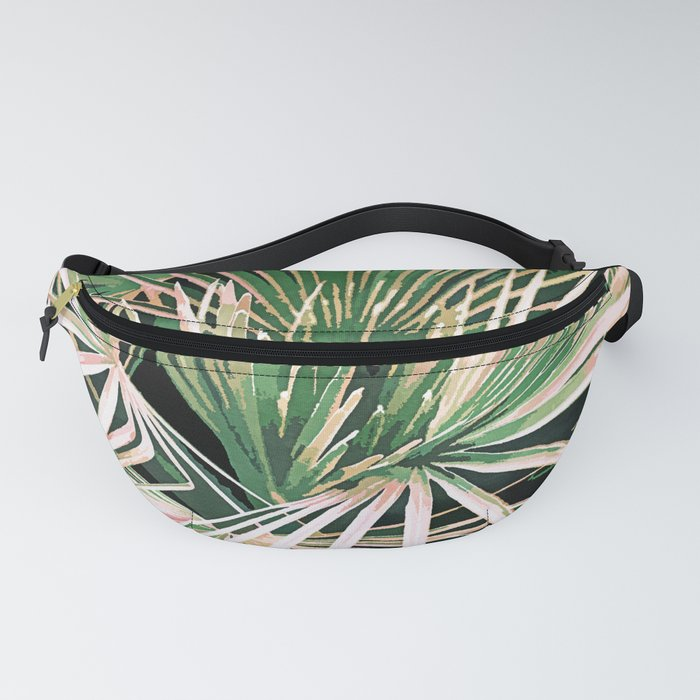 Palms #nature #painting Fanny Pack