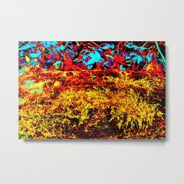 mossy log recolored Metal Print