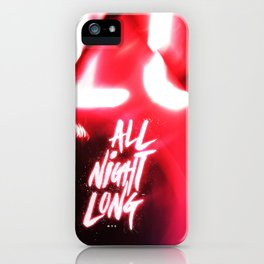 All Night Long NYC iPhone Case
