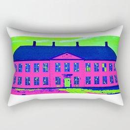 Roskilde Denmark popart pink Rectangular Pillow
