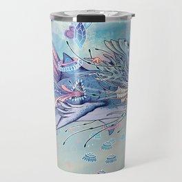 Journeying Spirit (Shark) Travel Mug