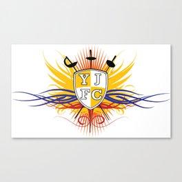 Yellow Jacket Fencing Club Classic Canvas Print