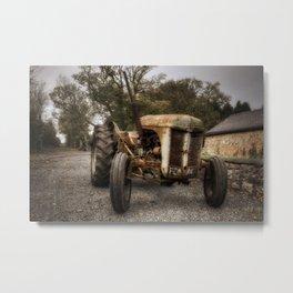Olde Tractor Metal Print