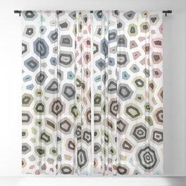 Experimental pattern 38 Sheer Curtain