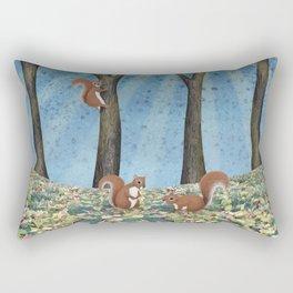 sunshine squirrels Rectangular Pillow
