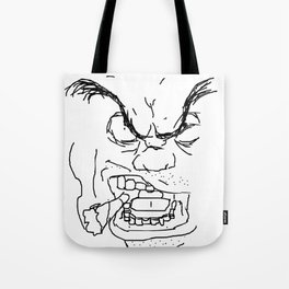 Screamin' Smokin' Sarge Tote Bag
