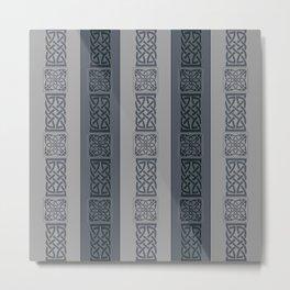 Viking grey Metal Print