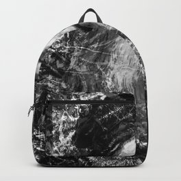 LEONARDO DA VINCI (BLACK & WHITE VERSION) Backpack