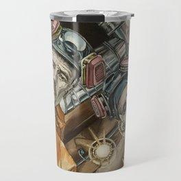 Heisenberg and Jesse, oil painting Travel Mug
