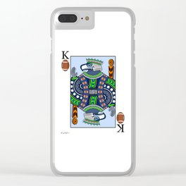 King of Pigskins Clear iPhone Case