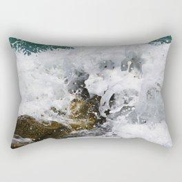 INSIDE THE WAVES 9 Rectangular Pillow