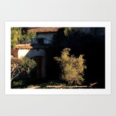 mission olive Art Print