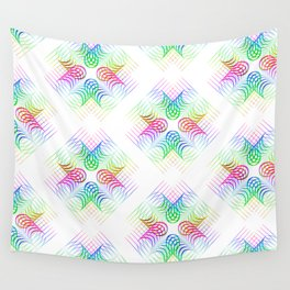 Colorful Rainbow Pattern Wall Tapestry
