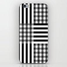 monochrome pattern  iPhone & iPod Skin