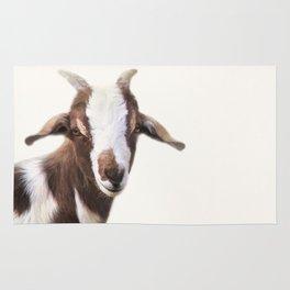 Goat Portrait Rug