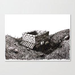 vestigio/vestige #1 Canvas Print