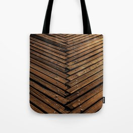 Wooden Artistic pallets Tote Bag
