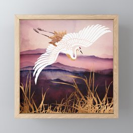 Elegant Flight III Framed Mini Art Print