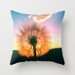 Whimsical wish Throw Pillow