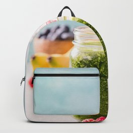 fresh smoothie with fruits and berries Backpack