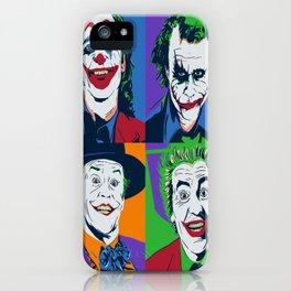 Joker Pop Art iPhone Case