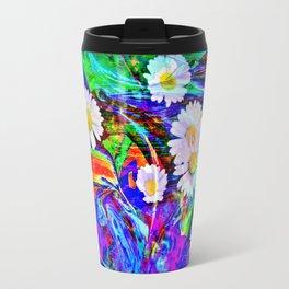 Nature Abstract Travel Mug