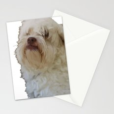 Grumpy Terrier Dog Face Stationery Cards