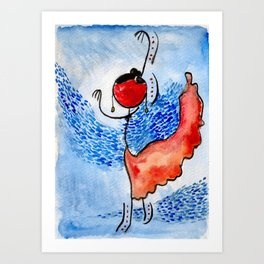 "#cagsticks ""Movement"" Art Print"