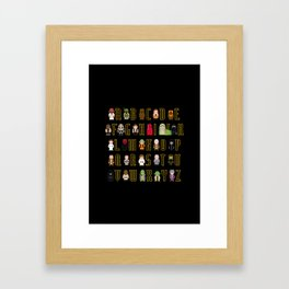 St_ar Wars Alphabet 3 Framed Art Print