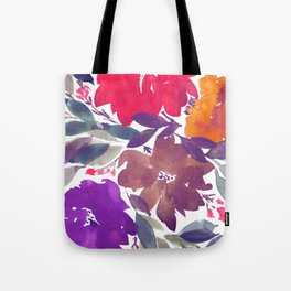 hand painted flowers_2a Tote Bag