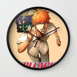 Ichigo Kurosaki cool2 Wall Clock