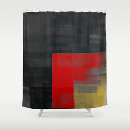 dark corner Shower Curtain