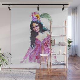 Fashion sketch Wall Mural