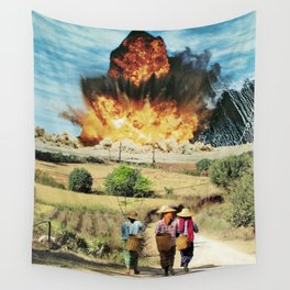 Reap what you sow Wall Tapestry