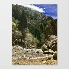 Adam's Canyon-Utah Canvas Print