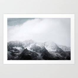 Morning in the Mountains - Nature Photography Art Print
