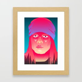 Neon Indian Framed Art Print