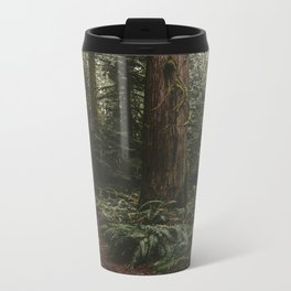 Old growth forest Metal Travel Mug