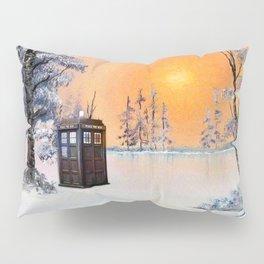 Tardis Dr Who Pillow Sham